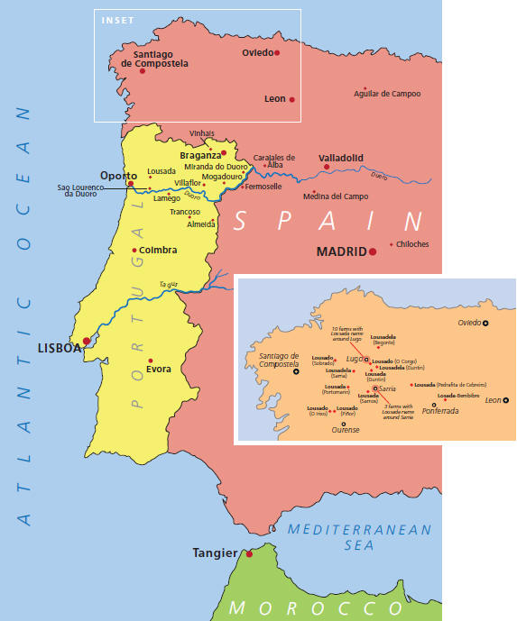 Map Of Portugal And Spain Detailed.Portugal Map